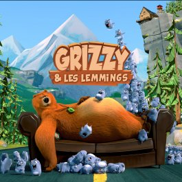 Grizzy et les lemmings tous les pisodes en streaming - Dessin de grizzly ...