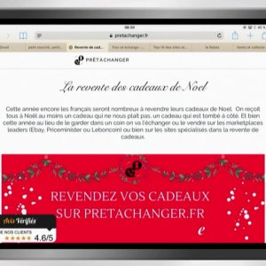 Site pour vendre cadeaux de noel