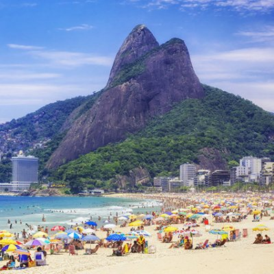 Rio la plage