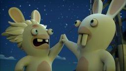Rediffusion Les lapins crétins - invasion, la série tv en streaming
