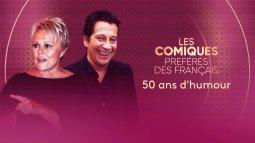 Les comiques préférés des français : 50 ans d'humour en streaming