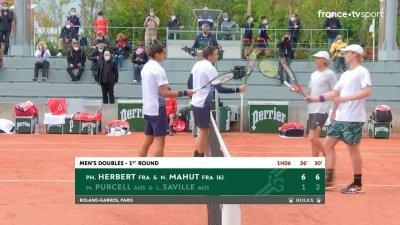 La paire française Herbert/Mahut se qualifie sans forcer