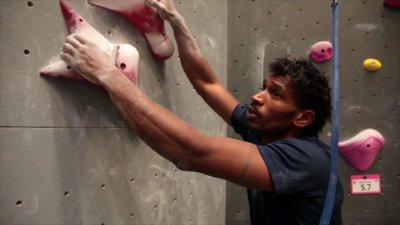 Bassa Mawem, champion d'escalade de vitesse, tentera de grimper sur le podium à Tokyo