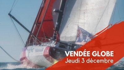 Journal du Vendée Globe : Jeudi 3 décembre