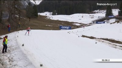 Ski de fond : relais 4 × 5 km femmes