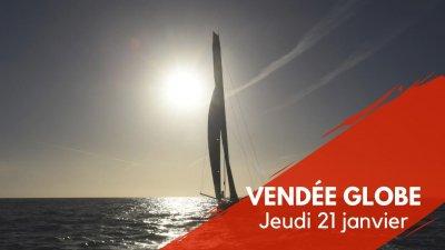 Journal du Vendée Globe : Jeudi 21 janvier