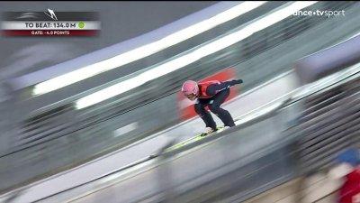Saut à ski : Compétition par équipes hommes HS 137