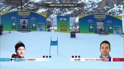 Cortina 2021 – Slalom parallèle : Mathieu Faivre qualifié en quarts de finale