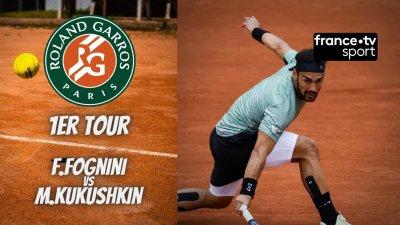 Le résumé Fognini vs Kukushkin
