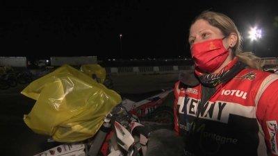 Audrey Rossat, dernière française, veut aller au bout de ce Dakar