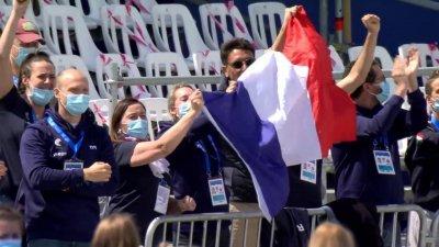Axel Reymond sacré champion d'Europe du 25 km eau libre