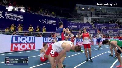 Torun 2021 : Jakob Ingebrigtsen champion d'Europe indoor du 1 500 mètres !