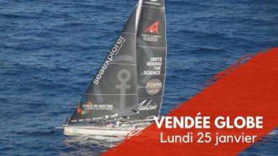 Journal du Vendée Globe : Lundi 25 janvier