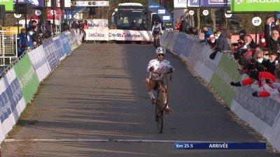 Clément Venturini remporte son quatrième titre de champion de France de cyclo-cross