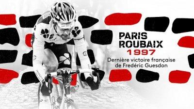 Paris-Roubaix 1997 : revivez le dernier succès tricolore de Frédéric Guesdon