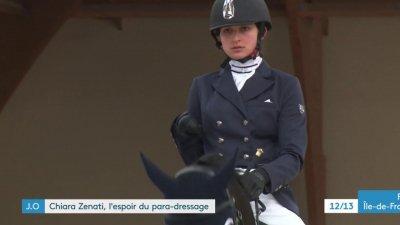 Chiara Zenati, l'espoir du para-dressage