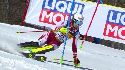 Cortina 2021 - Slalom hommes : La surprise Adrian Pertl
