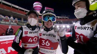 Oberstdorf 2021 : Ema Klinec nouvelle championne du monde du saut à ski petit tremplin !