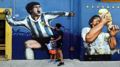 Diego Maradona : Les larmes de l'Argentine