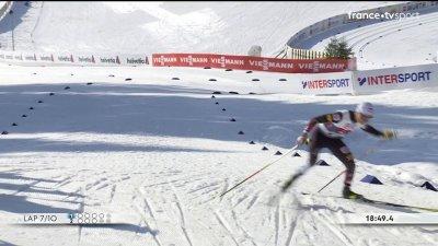 Combiné nordique : sprint par équipes hommes 2 × 7,5 km