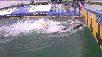 Relais 5km en eau libre : La France au pied du podium loin derrière l'Italie