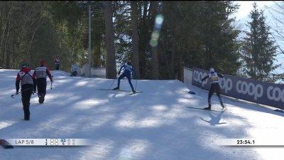 Combiné nordique : compétition par équipes hommes 4 × 5 km