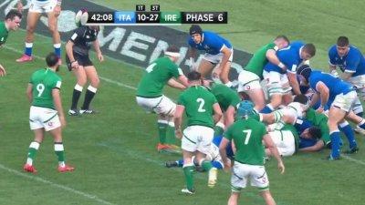 L'essai du bonus offensif pour l'Irlande !