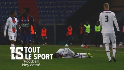 Football : Ney cassé