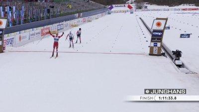 Oberstdorf 2021 - Skiathlon hommes : Bolshunov s'impose !