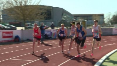 Gaël Geffroy en piste pour les Jeux
