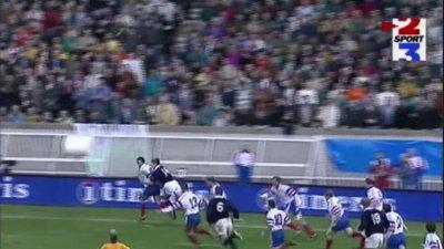 L'essai de légende d'Olivier Magne (France - Écosse, 5 Nations 1997)
