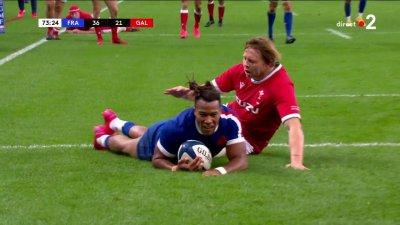 Et de 5 pour les Bleus avec l'exploit de Teddy Thomas !