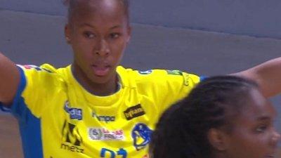 Match très accroché entre Brest et Metz Handball