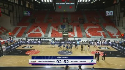 Bourges écrase Basket Landes de 30 points