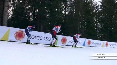 Combiné nordique : ski de fond 10 km hommes