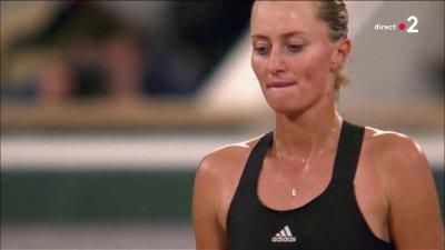 Kristina Mladenovic sortie dès le premier tour par Laura Siegemund
