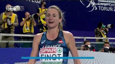 Torun 2021 : Alice Finot décroche la médaille d'argent sur le 3000 mètres