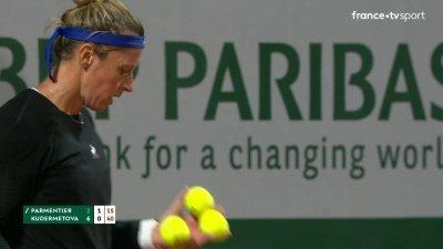 P. Parmentier (FRA) vs V. Kudermetova (RUS) - 1er tour - Court n°14