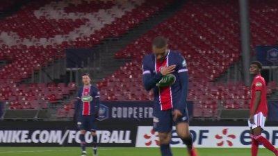 Brest / PSG - 16e de finale : Mbappé y va de son doublé