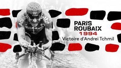 Paris-Roubaix 1994 : revivez le succès surprise d'Andreï Tchmil