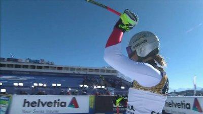 Cortina 2021 - Descente dames : Corinne Suter prend sa revanche et remporte son premier titre mondial