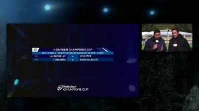 Champions Cup / Challenge Cup : le tirage au sort des demi-finales
