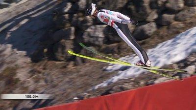 Oberstdorf 2021 - Combiné nordique hommes par équipes petit tremplin : le meilleur saut français !