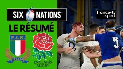 6 Nations 2020 : Italie vs Angleterre : Résumé Complet