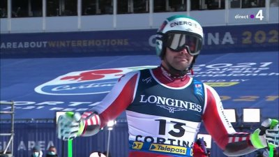 Cortina 2021 - Combiné hommes : Vincent Kriechmayer derrière Pinturault