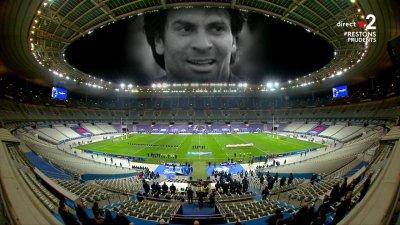 La minute de silence émouvante en la mémoire de Christophe Dominici