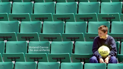 Roland Garros : L'île aux enfants
