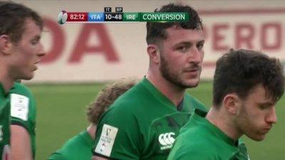 Première victoire pour l'Irlande dans ce 6 Nations 2021