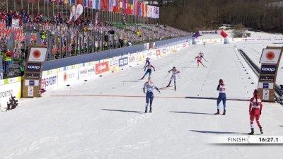 Oberstdorf 2021 – Sprint par équipes femmes : la Suède conserve son titre !