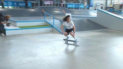 Championnats de France de skate (Street 2021) : Charlotte Hym remporte son 4e titre d'affilée